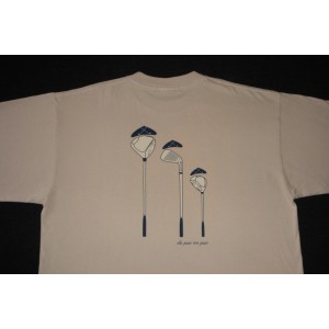 T-SHIRT HOMME FAMILLE BEIGE