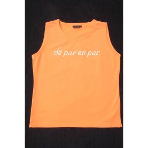 "DEBARDEUR "" DE PAR EN PAR ""  MANDARINE"
